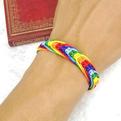 Rainbow Friend Pride Bracelet