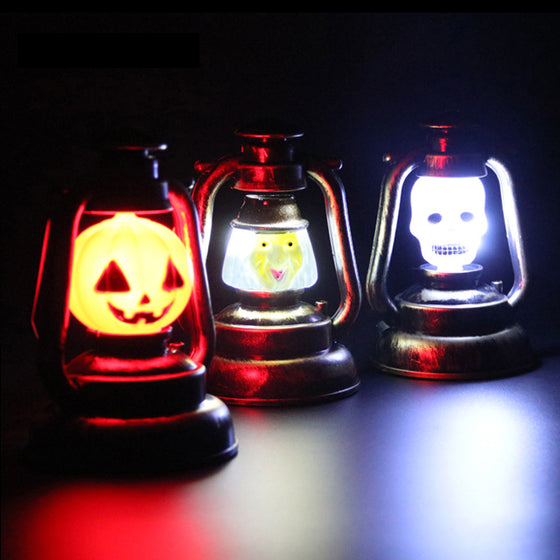 Halloween Luminous Pumpkin Ghost Night Light
