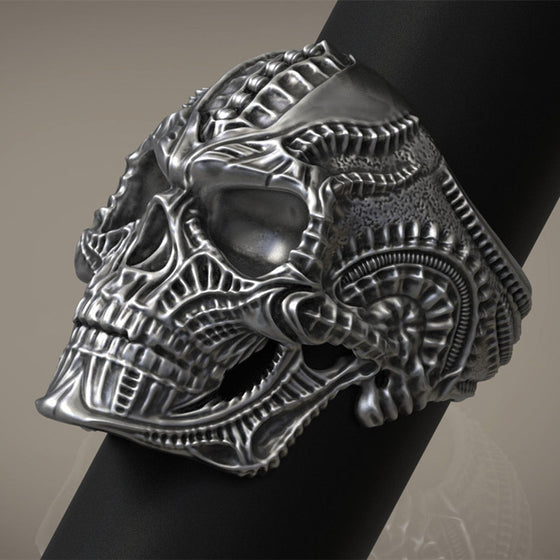 Alien Skull Ring for Men