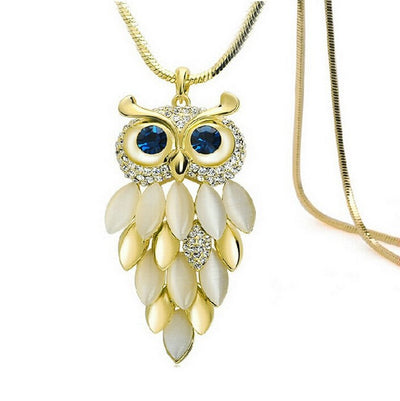 Owl Feather Necklace