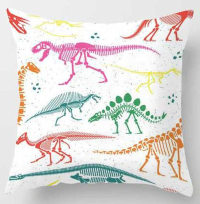 Dinosaur Skull Sofa Pillow