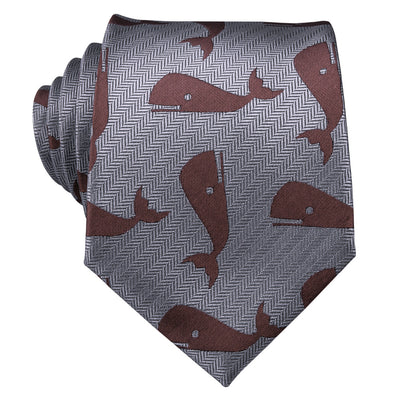 New Arrival Whale Silk Ties