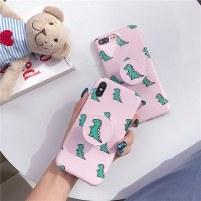 Lovely baby dinosaur phone case for iphone