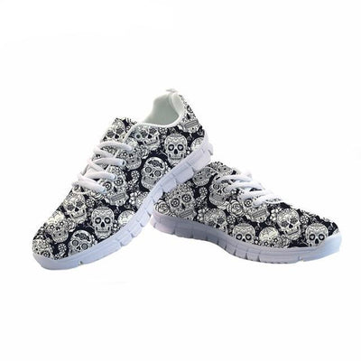 Sugar Skulls Breathable Sneaker
