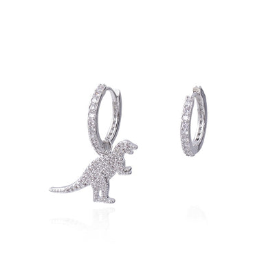 Sparkle Dinosaur Earrings