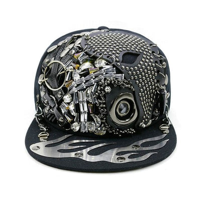 Vogue Skull Bone Hip Hop Baseball Cap