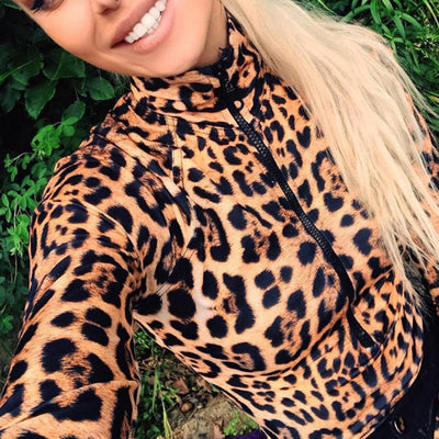 Leopard Bodysuit for Women