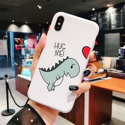 Dinosaur Love Couple Phone Case