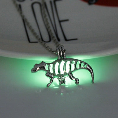Luminous Dinosaur Necklace