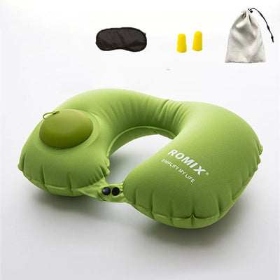 Automatic Inflatable Pillow Travel Accessories 4pcs/set