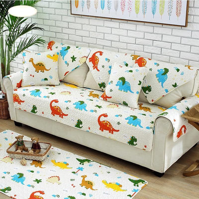 Cotton Sofa Cushions Cartoon Dinosaur