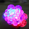 Led Colored Mesh Squishy Grape Ball