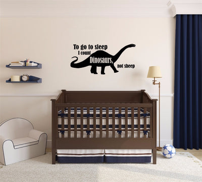 Dinosaur Wall Decal Kids Room