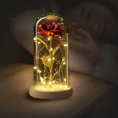 LED Gold Rose Mother Day Gift