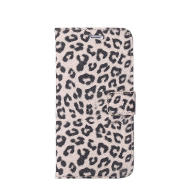 Leopard print Flip Leather case