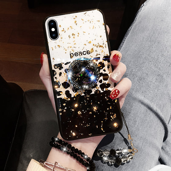 Luxury Leopard Print Phone Case