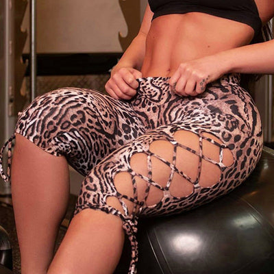 Leopard Print Summer Fitness Leggings