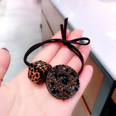 New Korea Fashion Leopard Print Hair Accessories