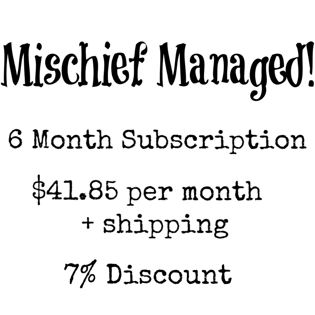 6 Month Subscription Package