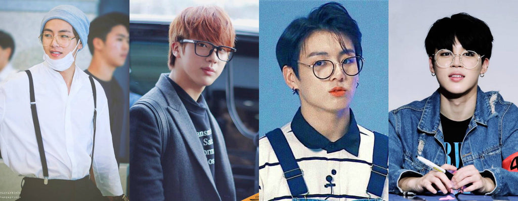BTS Glasses: How the Princes of K-Pop Use Specs to Impress