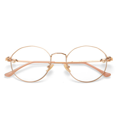Liberty Round blue light blocking glasses - MOONSPECS