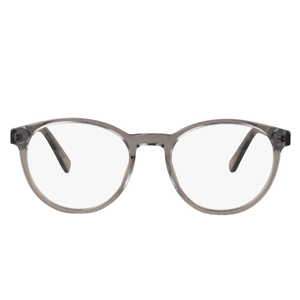 Gemini Round blue light blocking glasses - MOONSPECS