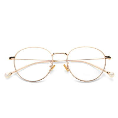 Nereide Oval blue light blocking glasses - MOONSPECS
