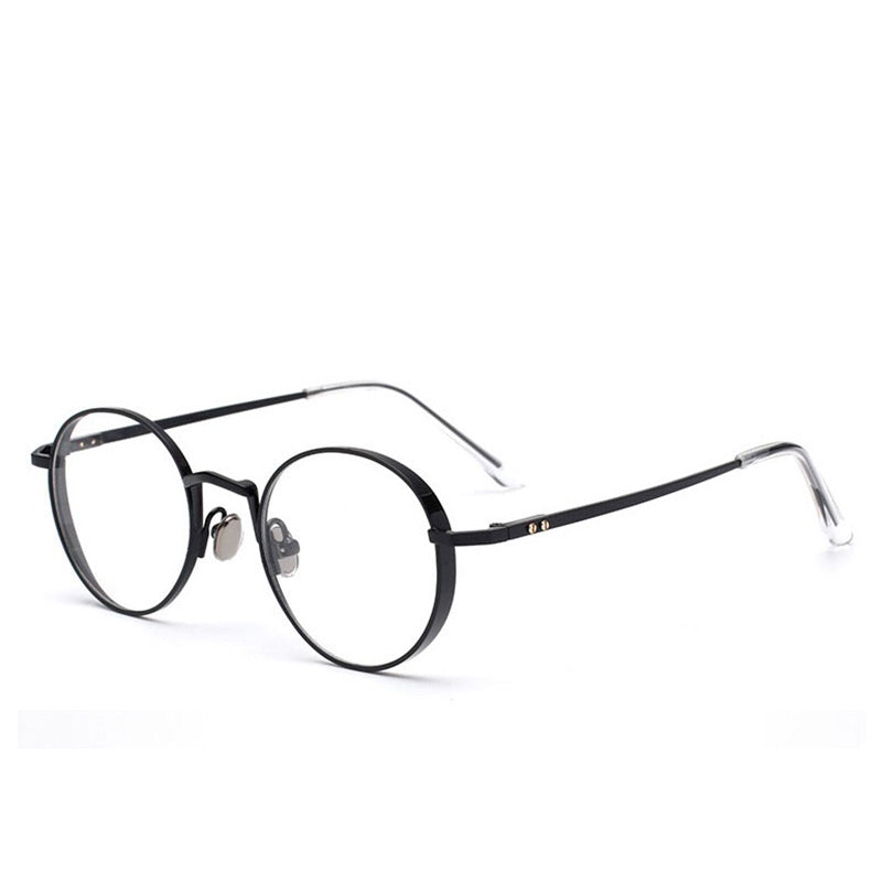 Pedal to the Metal Round blue light blocking glasses - MOONSPECS