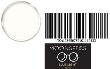 Blue Block Rx Lenses blue light blocking glasses - MOONSPECS