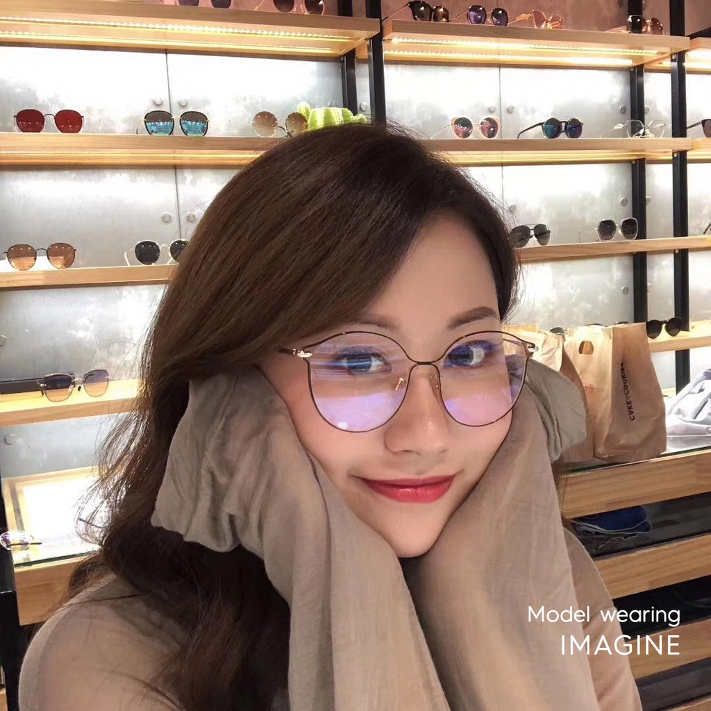 Imagine Oversized blue light blocking glasses - MOONSPECS