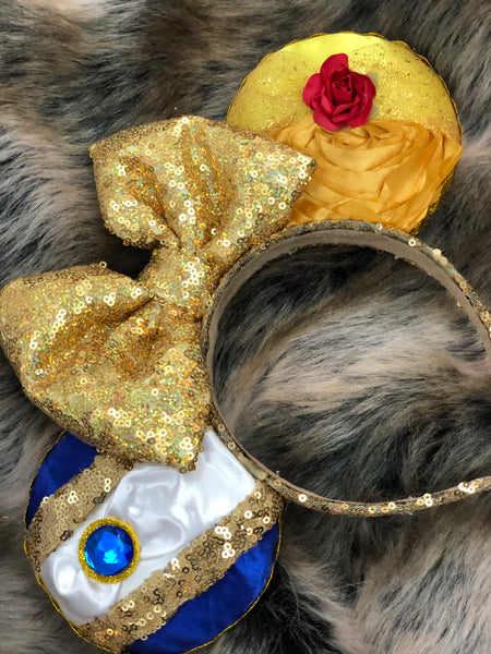 Beauty and the beast lebownitte ears