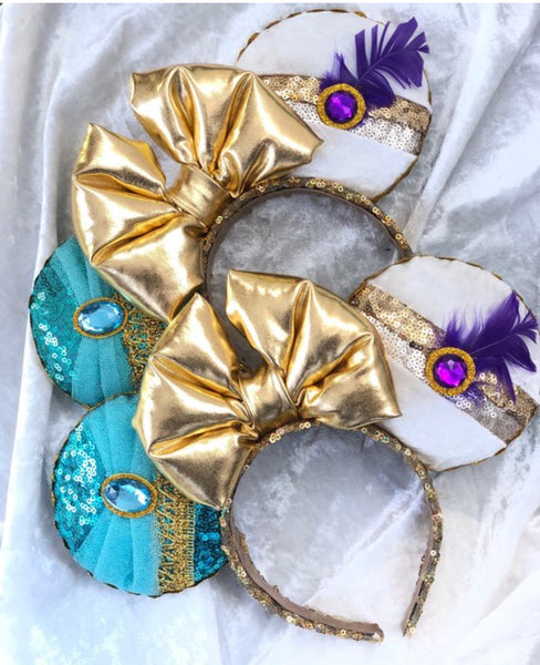 Jasmine and Aladdin mouse ears