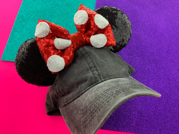 Minnie faded hat