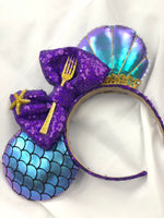 New little mermaid one shell