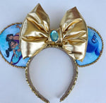 Aladdin and Jasmine fabric ears