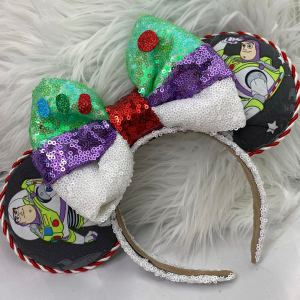 Buzz bow fabric ears
