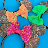 Stained glass Disney ears