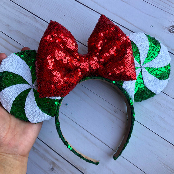 Green Peppermint Ears