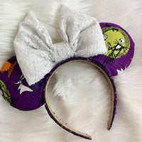 Nbc fabric ears whit bow