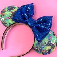 Stitch costume ears