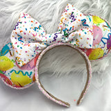 Balloon fabric ears