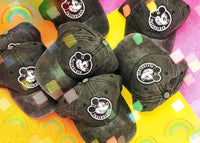 Black faded passholder hats