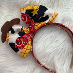 Woody bow headband