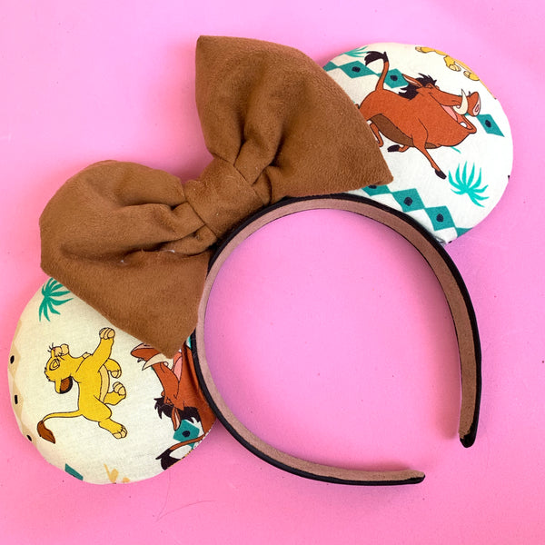 Lion king fabric ears