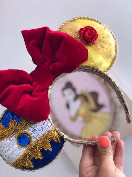 Velvet Beauty and the Beast Ears