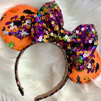 Halloween Mickey and Minnie Ears