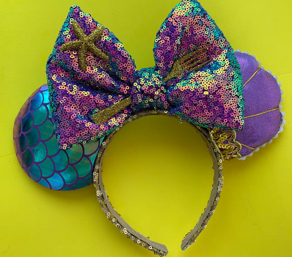 New mermaid inspired ears