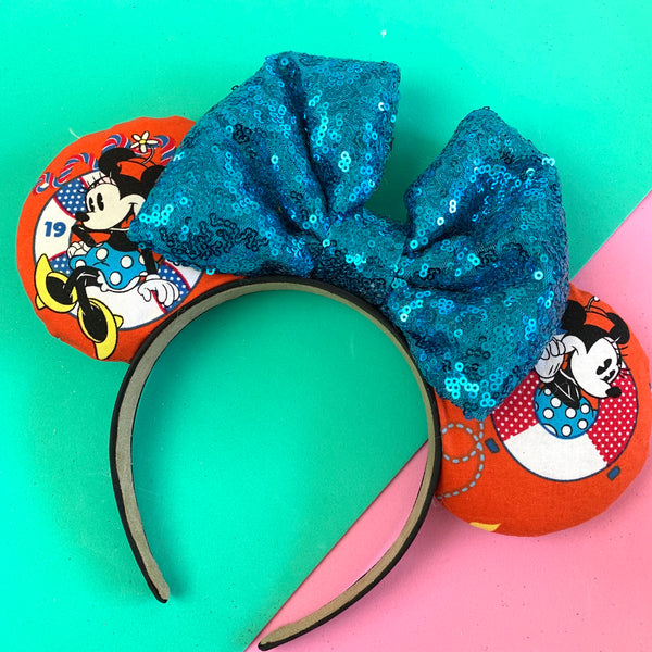 Minnie cruise mouse ears