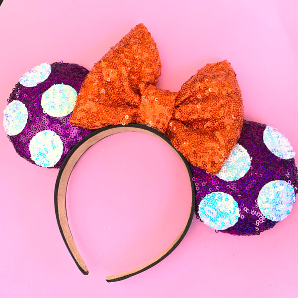 Minnie halloween Inspired ears