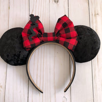 Christmas Flannel Ears